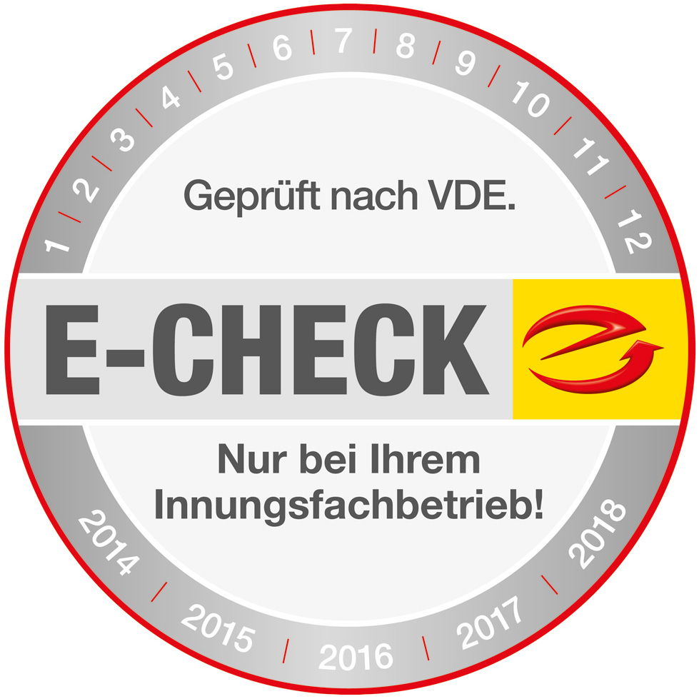 Der E-Check bei Muster Elektro in Musterstadt